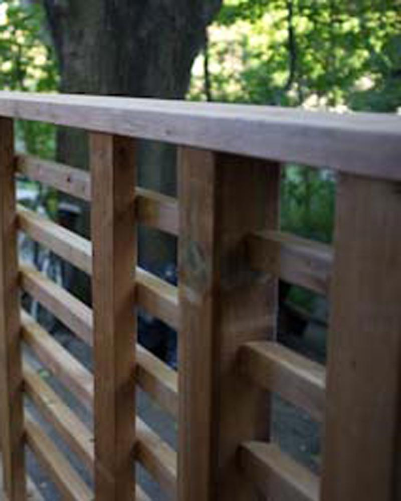 Railing and Balusters
